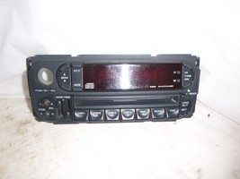 2001-2005 Chrysler Sebring Stratus Radio 4 Disc Cd Face Plate MR587284 LEX209 image 2