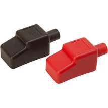 """Sea-Dog Battery Terminal Covers - Red/Back - 1/2"""" [415110-1] - $16.94"""