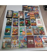 Lot of 27 Mixed VHS Tapes Kids Movies - $8.49