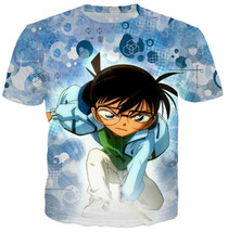 "Fashion Men/Women""s Anime Detective Conan 3D Print Casual T-Shirt Short ... - $33.80"