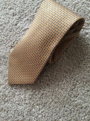1ac573cf6594 12. 12. Previous. Brooks Brothers Makers Tie Gold/Blue/Silver Geometric 100%  Silk · Brooks Brothers Makers ...