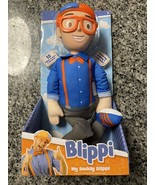"""My Buddy Blippi Deluxe Talking 16"""" Feature Plush with Sounds Effects - $16.82"""