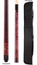 Mcdermott Custom GS09 Gray & Red Stain + Billiard Pool Cue Stick + Free Case - $229.95