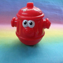 Playskool Weebles 2003 Hasbro Red Fire Hydrant Plastic Figure  - $3.91