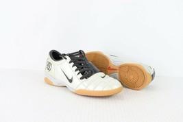 Vintage Nike Total 90 III Mens 7.5 Indoor Soccer Football Shoes Silver B... - $80.14