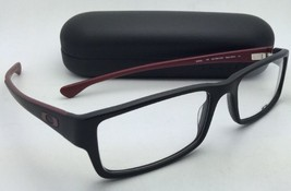 Tout Nouveau Oakley Lunettes Servo Ox 1066-0453 53-18 Noir & Brick-Red Cadre S