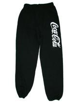 Coca-Cola Black Sweatpants Jogging Pants Size large BRAND NEW - $20.79