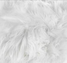 White Faux Fur Stool - $112.69