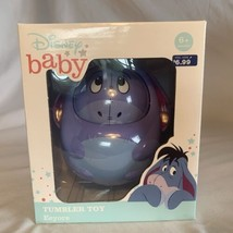 Disney Baby Winnie the Pooh Infant Eeyore Tumbler Toy NEW 6+ months Ratt... - $9.49