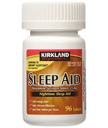 Kirkland Signature Sleep Aid Doxylamine Succinate 25 Mg, 96-Count (1 Bot... - $8.42