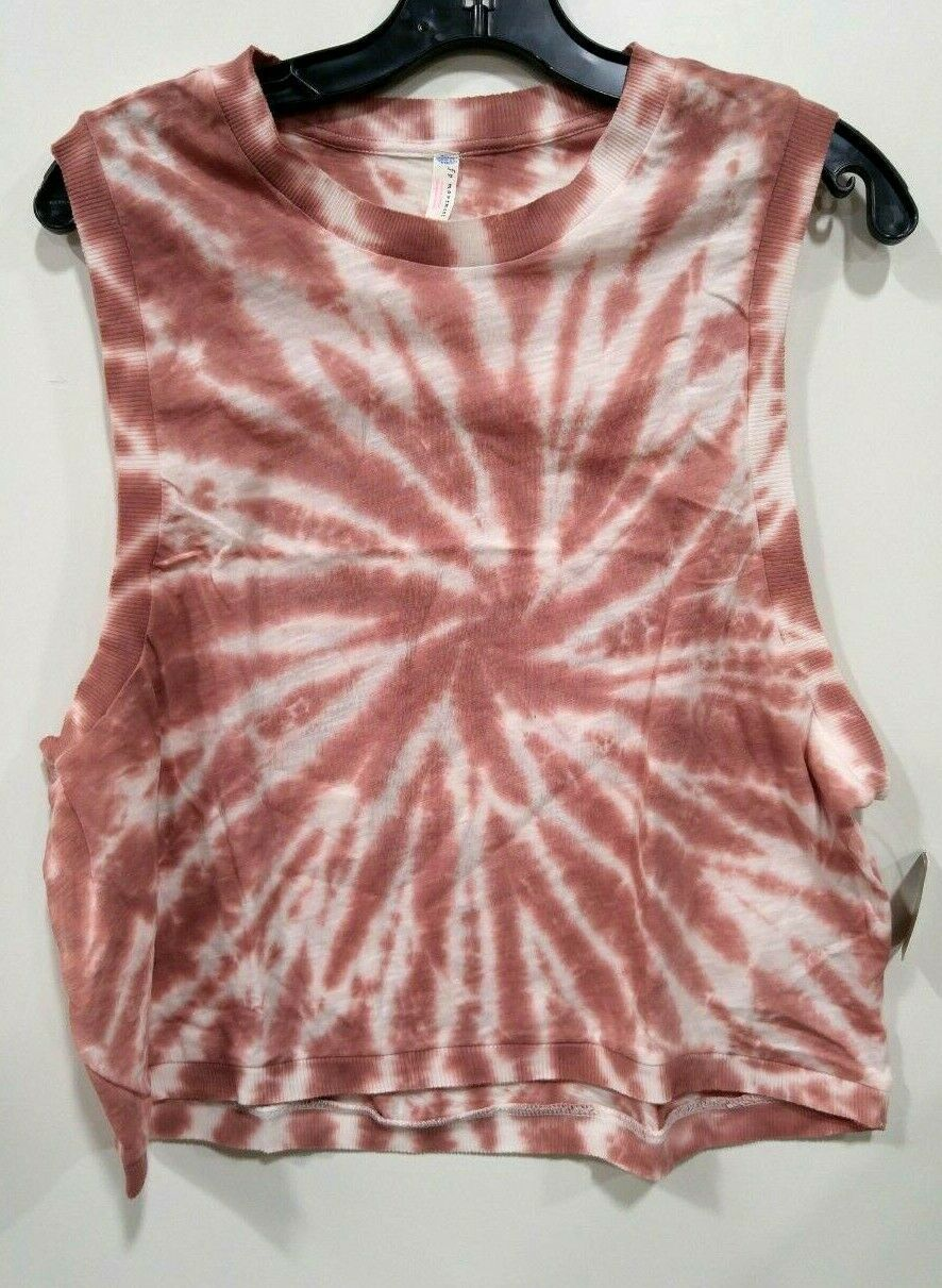 Primary image for FREE PEOPLE MOVEMENT LOVE TIE DYE *FIRESIDE COMBO* SZ MED