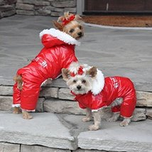 Red Ruffin It Dog Snow Suit Harness - $49.99