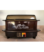 West Bend Slow Cooker Amber Brown Vintage Works Slo Cooker Made USA - $38.57