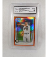 2011 Bowman Chrome Sonny gray 7/25 Orange Refractor GMA Graded Gem 10 - $98.95