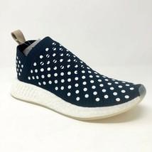 Adidas NMD CS2 Primeknit Ronin Polka Dot Navy White BA7212 Womens Size 10 - $119.95