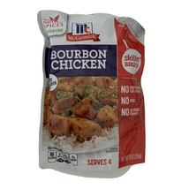 McCormicks Bourbon Chicken skillet sauce New. 4 Packages New 9oz Each - $40.59
