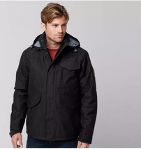 TIMBERLAND MEN'S RAGGED MOUNTAIN 3-IN-1 WATERPROOF FIELD JACKET SIZE L - $148.50