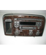 Volvo S80 2002 Radio AM FM Cassette CD Player w/ Bezel OEM - $73.45
