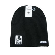 Disney Collection Neff Mickey Mouse M28 Black Beanie Unisex One Size Fit - $24.74