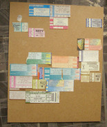 Ticket Stub Board Motley Crue Guns N Roses Blue Oyster Cult Black Sabbath - $46.00