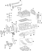 Genuine Mercedes-Benz Chain Guide 270-052-05-00 - $31.13