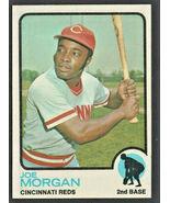 Cincinnati Reds Joe Morgan 1973 Topps Baseball Card # 230  - $3.99