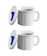 CorningWare Colours Pop-Ins 20-oz Soup Mug with Lid - 2 Pack French White - $27.54
