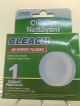 Automatic Bleach Toilet Bowl Tank Cleaning Tablets Cleaner Septic Safe image 1