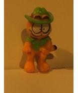 Garfield Teddy Roosevelt Hat Mustache PVC Figure Cake Topper - $4.94