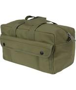 Olive Drab Heavyweight Military Mechanics Standard Tool Bag - $16.99