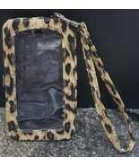 N) Leopard Print iPhone 5 Cell Phone Case Wristlet Credit Card License I... - £3.66 GBP
