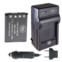 Battery + Charger for Olympus FE-330 FE330 FE-360 FE360 - $21.59