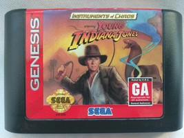 Instruments of Chaos Starring Young Indiana Jones (Sega Genesis, 1994) - $8.60
