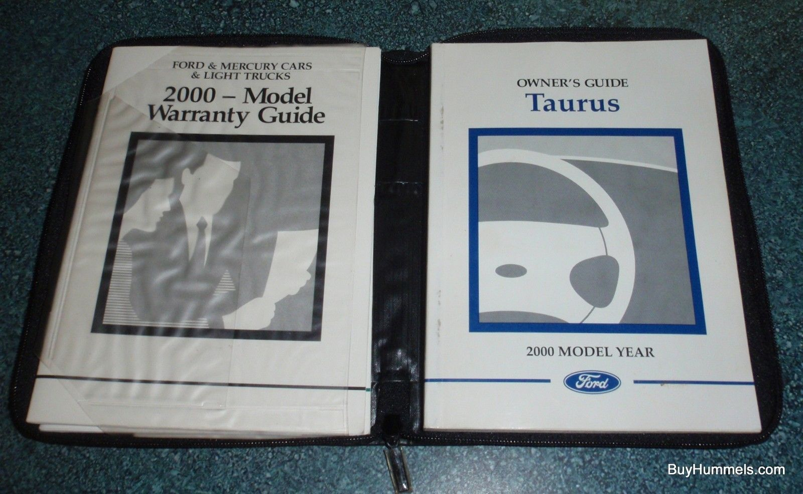 2000 Ford Taurus Owners Manual User Guide Reference Operator Book Fuses  Fluids