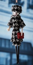 NIB De Carlini Madeleine in Plaid Dress Christmas Ornament - $98.01