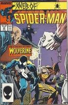 (CB-51) 1987 Marvel Comic Book: Web of Spider-Man #29 { Wolverine app. } - $8.00