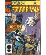 (CB-51) 1987 Marvel Comic Book: Web of Spider-Man #29 { Wolverine app. } - $8.00