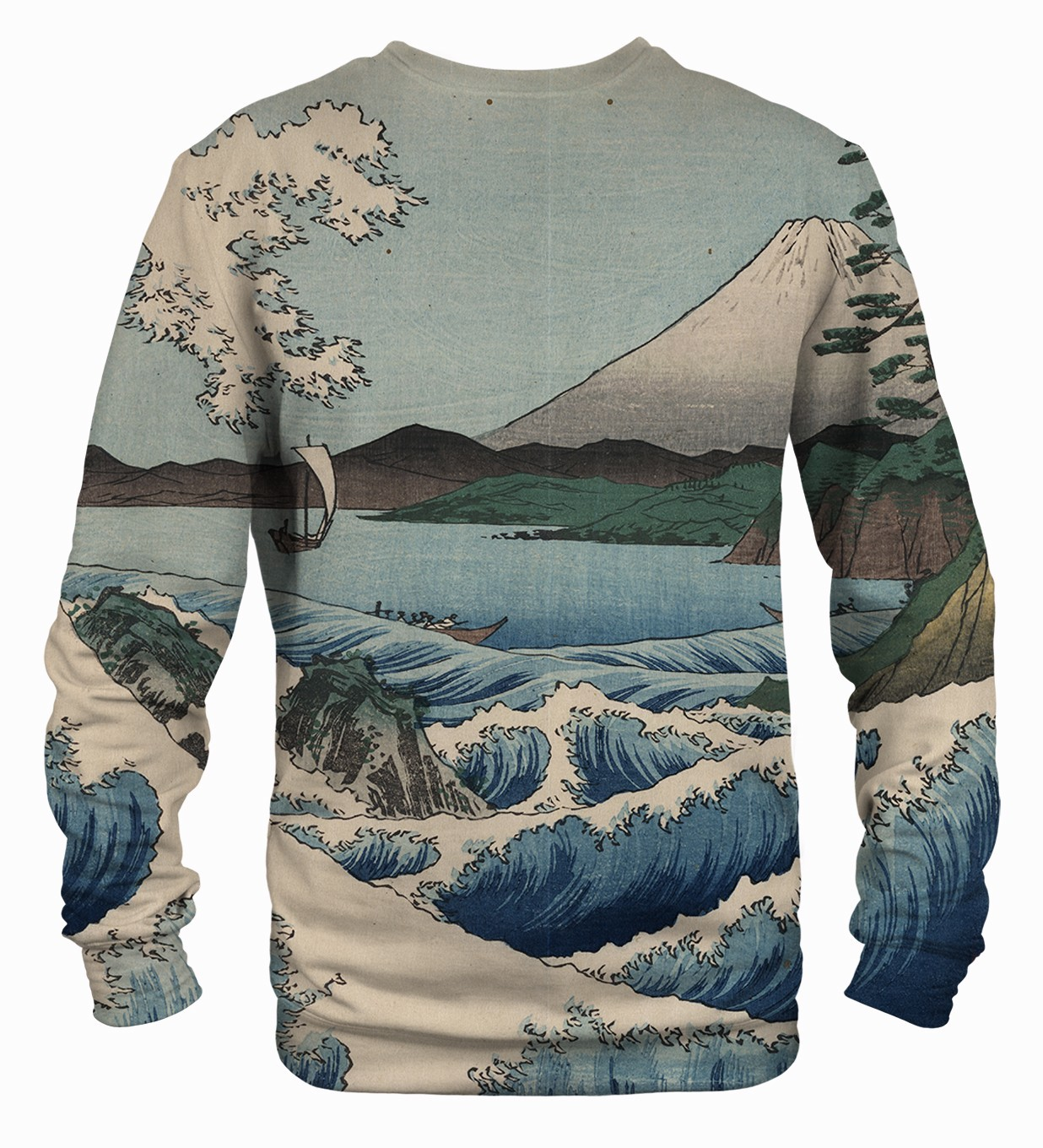 Sea of Satta Printed Sweatshirt | Unisex | XS-2XL | Mr.Gugu & Miss Go
