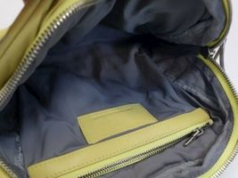 ALEXANDER WANG BRENDA Yellow Leather Crossbody Bag Purse Silver Hardware Dustbag image 8