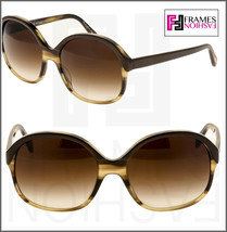 Oliver Peoples Casandra OV5235S Brown Horn Taupe Oversized Sunglasses 5235 - $206.91