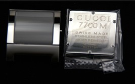 New Gucci  Replacement Case Set -7700 M - Stainless Steel - $99.95