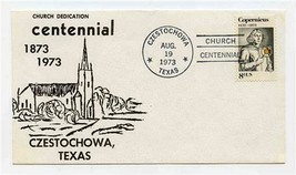 Czestochowa Texas Church Dedication Centennial 1973 Cover  - $17.82