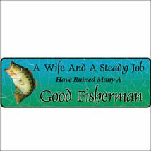 U-1334 10.5 inch x 3.5 inch RIVERS EDGE HOME DECOR NEW LARGE WIFE/STEADY... - $9.99