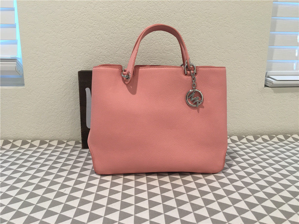 f26452361391 57. 57. Previous. MICHAEL Michael Kors Anabelle Large Leather Tote in Pale  Pink 30s6sapt3l. MICHAEL Michael ...