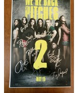 PITCH PERFECT 2 SIGNED AUTOGRAPHED MOVIE POSTER 12x18 ANNA KENDRICK 10 P... - $326.89