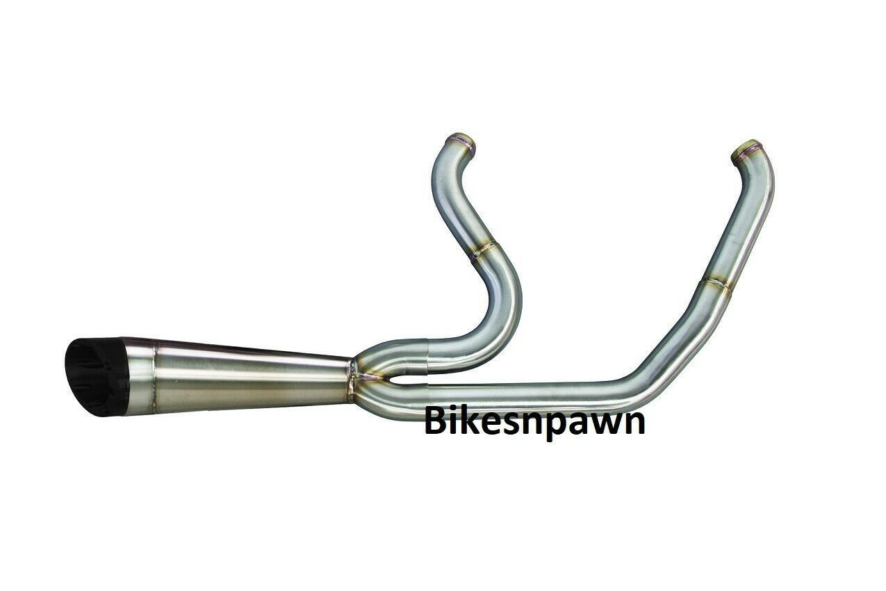 Two Brothers Racing Stainless 2 into 1 Shorty Exhaust 06-17 FXD Dyna Harley
