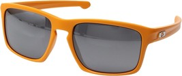 New Men's Oakley (OO9262-5957) Mph Silver Atomic Orange Iridium Lens Sunglasses - $69.00