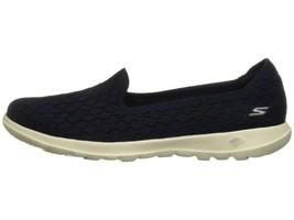 SKECHERS Go Walk Lite Daisy Women's Casual Slip On Sneakers 15423 NAVY - $42.00