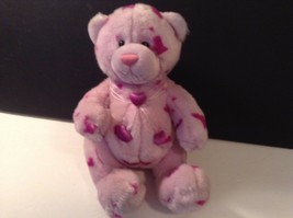 Gund Heads and Tails Purple with Hearts Plush Stuffed Bear Toy Animal 44560 - $8.59