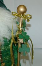 American Silkflower Irish Father Christmas S02481 Standing 23 Inches image 3